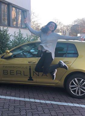 Fahrschule Kreuzberg Abiturientin Tabea